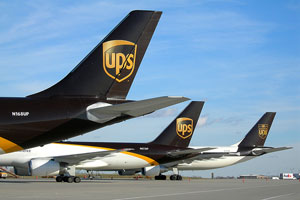 UPS planes lined up to deliver your bugs